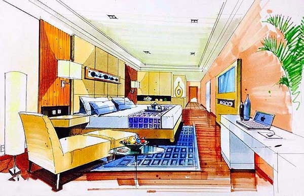 室内手绘设计